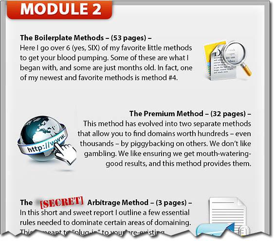 Zack Booker's Domain Flipping Made Easy - Module 2 Methods