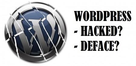 WordPress hacked?