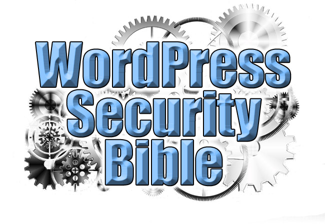 WordPress Security Bible Header