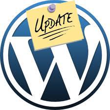 WordPress Update Announcement