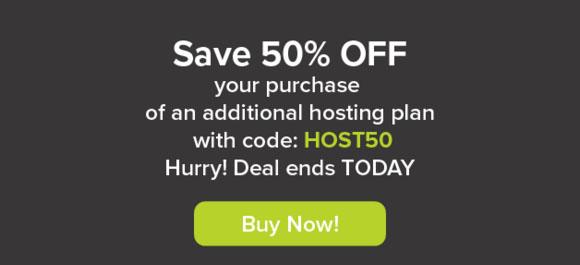 Hostnine April 2016 1-Day Sale