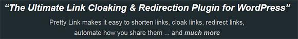 The Pretty Link Pro WordPress Plugin
