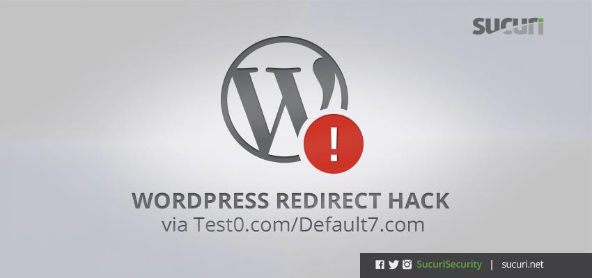 WordPress Redirect Hack