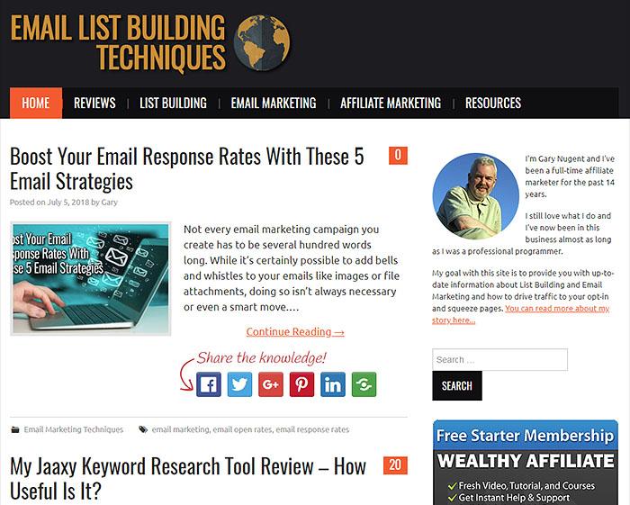 EmailListBuildingTechniques.com